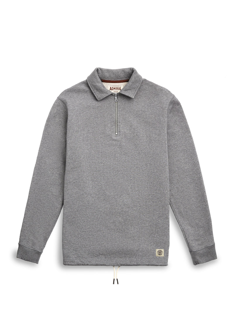 Chartwell Quarter Zip Top - Condor Grey Marl