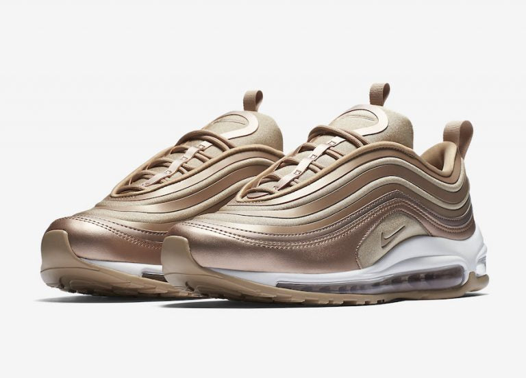 nike air max 97 rose gold