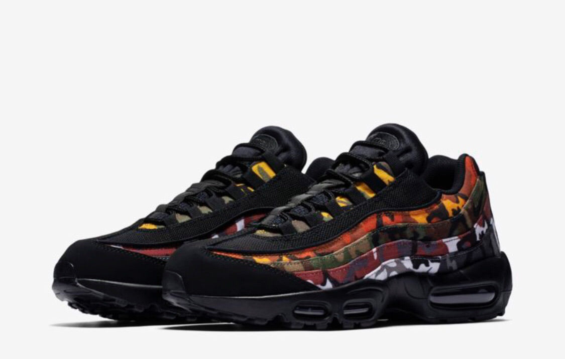 "premium selection 6d1f2 54176 Air Max 95 ""ERDL Party Black"
