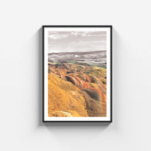 Load image into Gallery viewer, Mravaltskaro Colorful Mountains poster