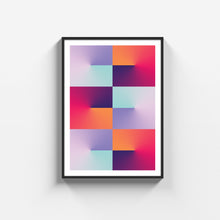 Load image into Gallery viewer, Colored lamp poster