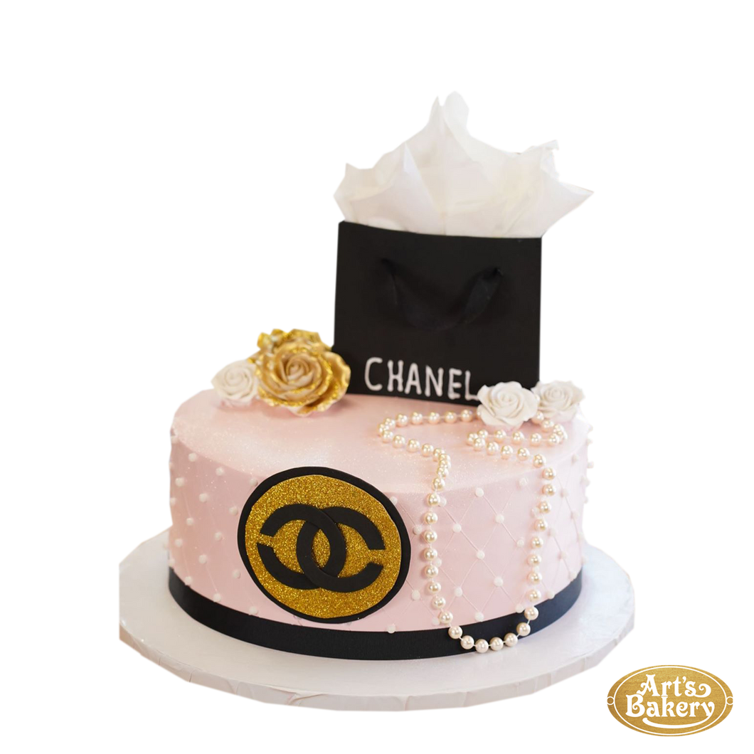 Arts Bakery Glendale Cake 104 (Coco Chanel Design)