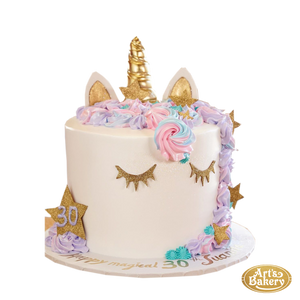 Arts Bakery Glendale Cake 109 (Unicorn Design)