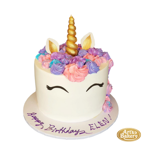 Arts Bakery Glendale Cake 12 (Unicorn Design)