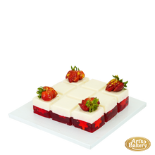 Load image into Gallery viewer, Arts Bakery Glendale Strawberry Vanilla Jello
