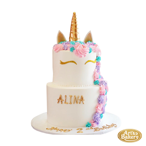 Arts Bakery Glendale Cake 146 (Unicorn Design)