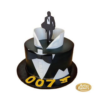 Arts Bakery Glendale Cake 62 (James Bond 007)