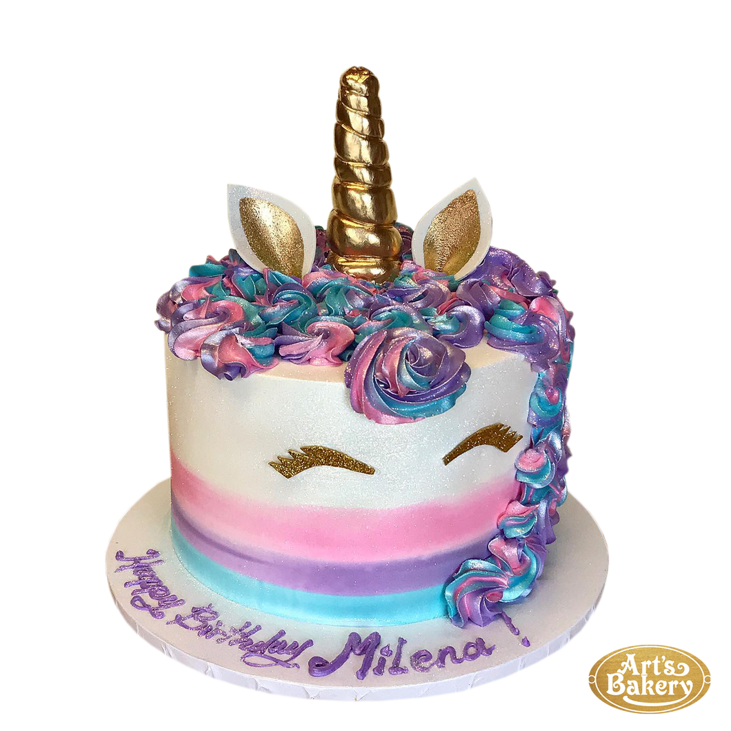Arts Bakery Glendale Cake 09 (Unicorn Design)