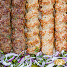 Load image into Gallery viewer, Arts Bakery Glendale Lulah Kabob Family Platter (6, & 12 Person Serving Sizes)
