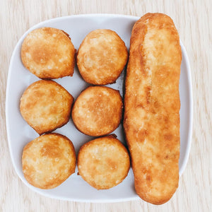 "Half-Dozen ""One-Bite"" Potato Peroshki"