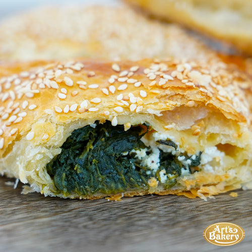 Spinach & Cheese Khachapuri / Börek
