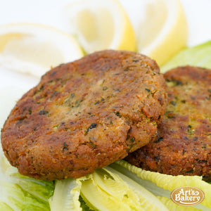 Zucchini Kotlet Plate