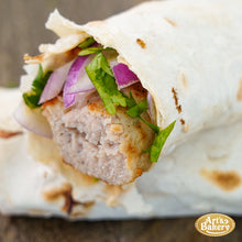 Load image into Gallery viewer, Arts Bakery Glendale Chicken Lulah Kabob Wrap