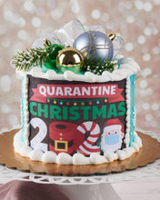 Load image into Gallery viewer, Quarantine Christmas 2020 Cake