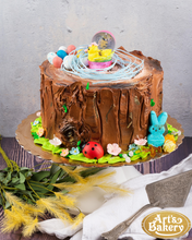 Load image into Gallery viewer, Easter Theme Cake 03