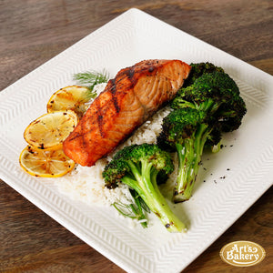 Arts Bakery Glendale Grilled Salmon Steak