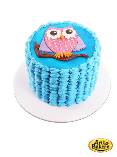 Arts Bakery Glendale 01 Owl Kid's Birthday Cake