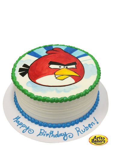 Arts Bakery Glendale 03 Angry Birds Kid's Birthday Cake