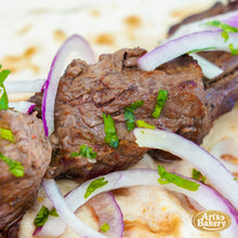 Load image into Gallery viewer, Arts Bakery Glendale Beef Shish Kabob Wrap