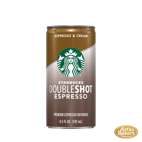 Arts Bakery Glendale Starbucks Doubleshot Espresso Can