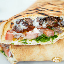 Load image into Gallery viewer, Arts Bakery Glendale Steak Pita Wrap