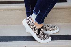 FEARFULLY MADE LEOPARD CANVAS