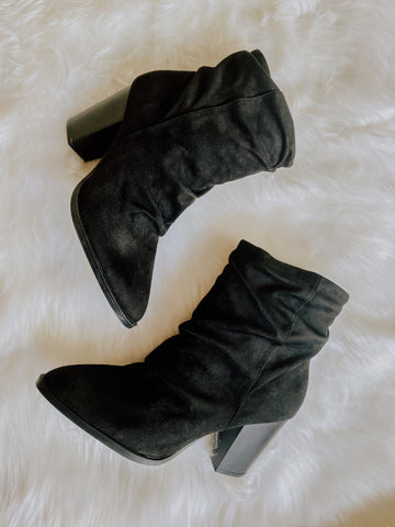 THE BOLD SUEDE BOOTIE