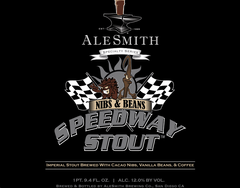 056. AleSmith Speedway Stout - Nibs & Beans