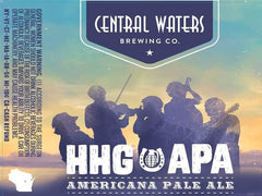 015. Central Waters HHG APA Americana Pale Ale