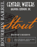 017. Central Waters Brewer's Reserve Bourbon Barrel Stout (2016)