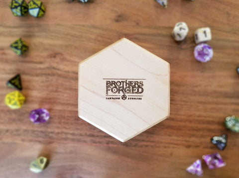 Maple Hex Dice Chest