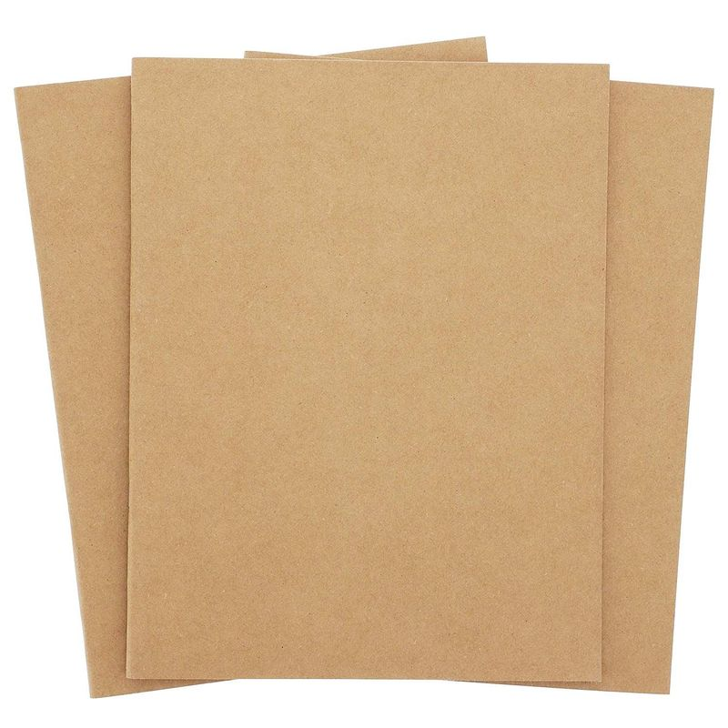 Kraft Paper Notebook, 8.5 x 11 Blank Journal (8.5 x 11 in, 24 Pack)