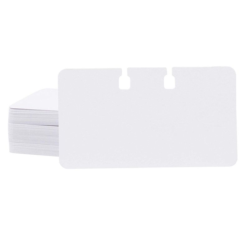 200 Blank Rotary File Card Refill (Holder & Divider Not Included) 2 1/4 x 4 inch