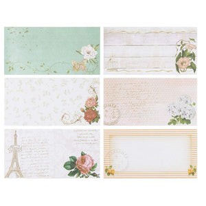 Floral Vintage Stationery Letter Paper and Envelopes Set (90 Pieces)