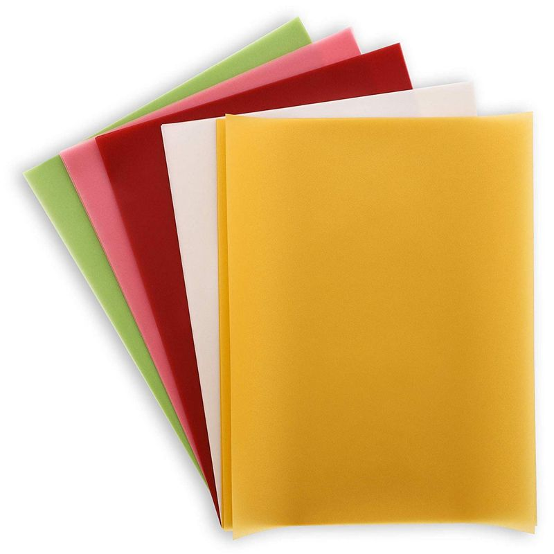 Vellum Paper for Invitations and Tracing (8.5 x 11 in, 5 Colors, 50 Sheets)