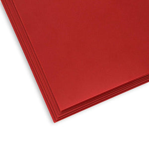 Vellum Paper for Invitations, Arts and Crafts Supplies (Red, 8.5 x 11 in, 50 Sheets)