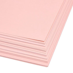 Paper Junkie Shimmer Cardstock Paper (48 Count) 8.5 x 11 Inches, Pink