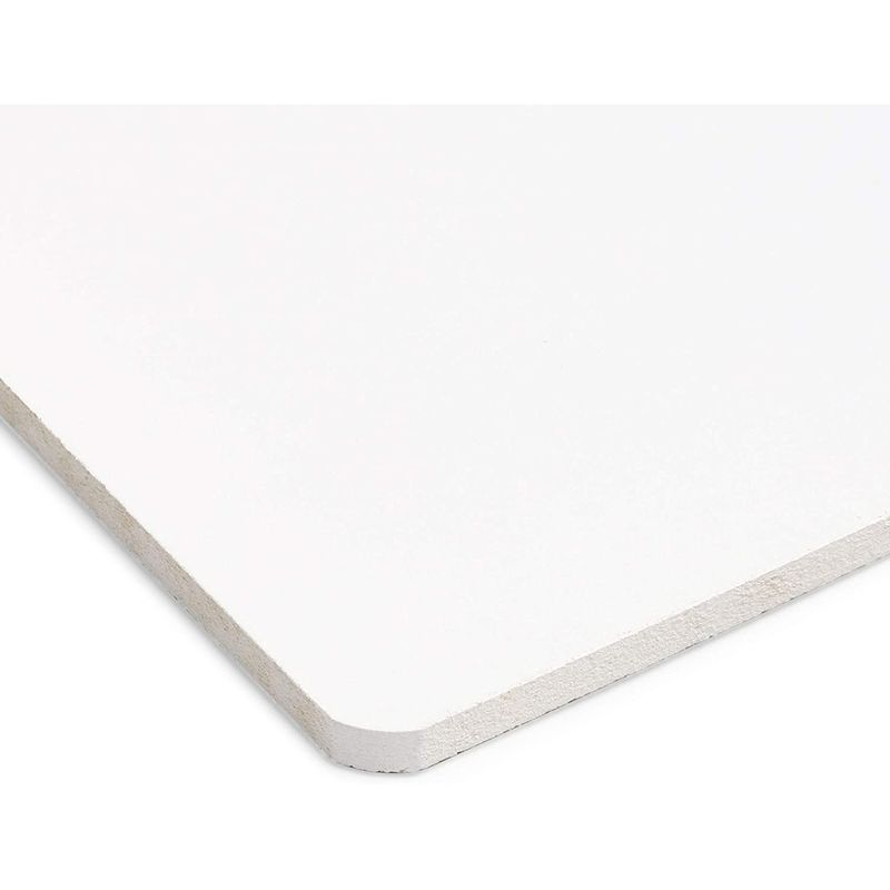 6 Pack White Clipboards with Low Profile Clip for Classroom and Office Use