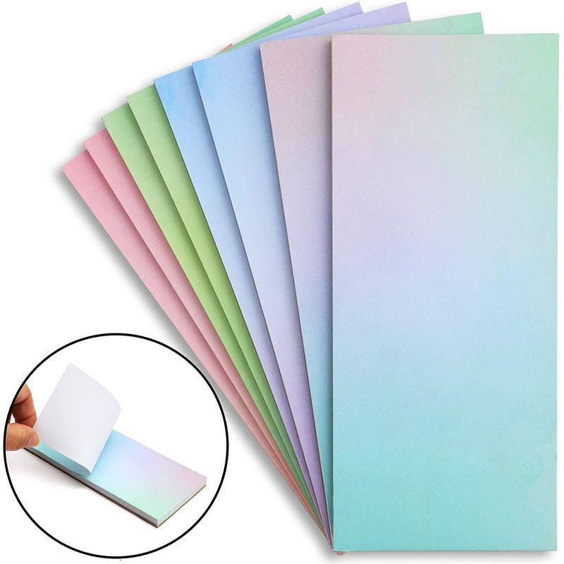 to Do List Notepads, Gradient Design (8-Pack)