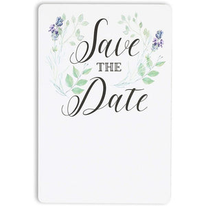 Save the Date Magnet Cards for Weddings (4 x 6 In, 24 Pack)