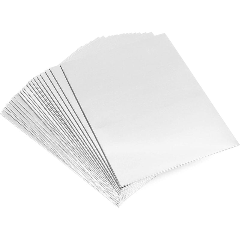 Folders with Pockets (Silver, 9.25 x 12 in, 24 Pack)