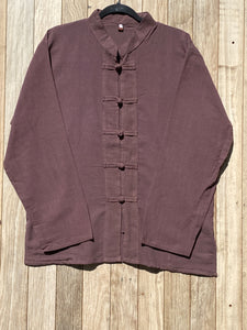 Long Sleeve Mao Shirt