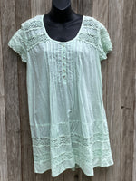 Load image into Gallery viewer, Rita's Short Sleeve Cotton Lace Dress