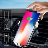 10W QI Wireless Charger Car Mount Holder For