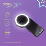 Almost Famous Spotlight Selfie Light – Black
