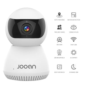 Smart AI 1080p Surveillance & Baby Monitor Camera Wifi CCTV With Two Way Speak