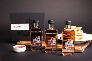 Runamok Barrel-Aged Maple Syrup Collection