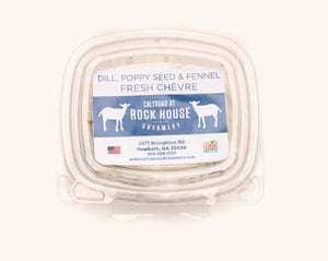 Fresh Chèvre Cheese Flavored with Dill & Spices