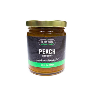Farmview Artisan Select - Peach Chutney  - 9oz