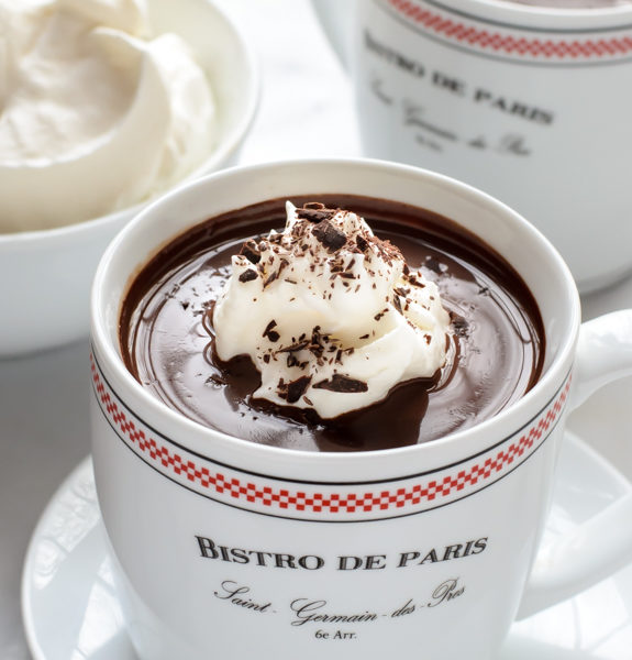 French Hot Chocolate Well Plated